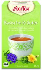 10er Pack BIO YOGI TEA Basische Kräuter | Ayurvedische Kräuterteemischung