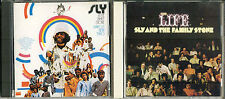 CD - Sly & The Family Stone 2 CD Lot - Japanese Issue - NO OBIs