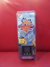 Mattel RADICA 16093 Cube World Series 3 Electronic Blue Chief NEW Stick People
