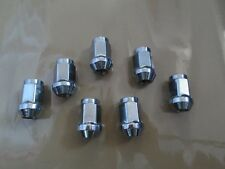 20 PCS set Lug Nuts 12x1.5 Chrome Close End M12 12mm 12x1.50 M12x1.5