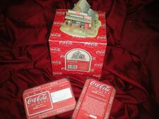 "LILLIPUT LANE ""COCA COLA"" RETIRED MIB COA WE'VE GOT IT"