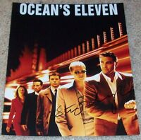 STEVEN SODERBERGH SIGNED AUTOGRAPH OCEAN'S ELEVEN 8x10 PHOTO w/EXACT VIDEO PROOF
