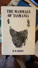 THE MAMMALS OF TASMANIA r.h.green PB
