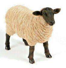Standing Sheep 43cm - Quality Finish & Frost Proof - Ideal Gift For In/Out Doors