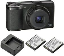 Ricoh GR III Digital Camera with BJ-11 Battery Charger and 2 DB-110 Batteries