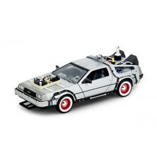 Welly 1/24 22444w Back to The Future Part III Delorean Time Machine