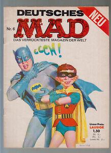 MAD Originalheft Nr. 6 ( 1- ) BSV Williams im sehr guten Zustand Serie ab 1967