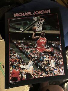 Michael Jordan Starline Poster 1988 Chicago Bulls Basketball Team Rare! 16x20!
