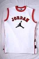 Vintage Micheal Jordan Chicago Bulls Basketball Jersey Sz Lg-Sewn