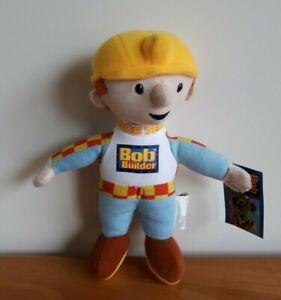 Bob The Builder Plush Soft Stuffed Toy 20CM NEW