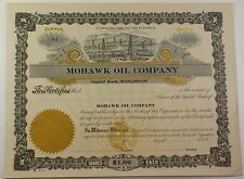 Mohawk Oil Company Winchester Kentucky Stock Certificate Serial Number 84