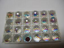 4 swarovski crystal 3/4 flatback disco balls,18mm crystal AB CAL VZ #4861