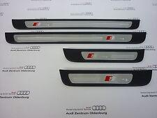 Original Audi Seuils de Porte A5 Sportback Insert Décoration Aluminium Sline