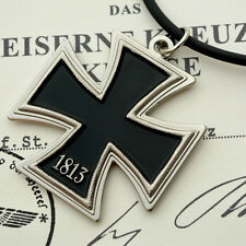 German Knight Knights Cross Iron Cross Templar pendant Necklace medal badge