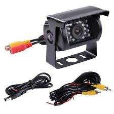 Waterproof 18 IR LED Car Rear View CCD Camera Night Vision Reverse Reversing 12v