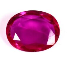 7.35Ct Romantic Natural Royal Red Ruby Oval Shape Loose Gemstone Certified A1283