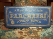 Vintage 1930's/40's Selchow & Righter Parcheesi A Royal Game Of India