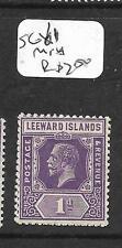 LEEWARD ISLANDS  (PP0105B) KGV  1D  SG 61  MNH