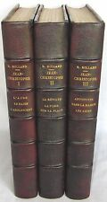 Jean-Christophe Nouvelle Edition ROMAIN ROLLAND 3 volumes FINE BINDINGS C1921