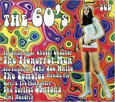 The 60's (2000) BOX 3 CD NUOVO Santana. J Hendrix. Ike & Tina Turner. Small Face