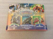 Skylanders Giants Dragonfire Cannon Battle Pack Chop Chop Shroomboom & Cards