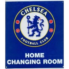 Chelsea Football Club Crest Home Changing Room Sign New