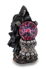 Destroyer of Worlds Grim Reaper Plasma Crystal Ball Accent Lamp