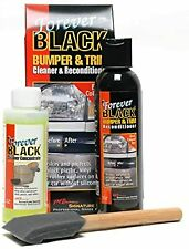 Forever Black Bumper & Trim Cleaner & Reconditioner Kit
