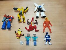 Transformers + Minecraft + Power Rangers LOT! (9) Action Figures + Collectibles!