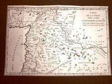 Siria o Syrie Acquaforte del 1779 Mappa Histoire Universelle chez Moutard