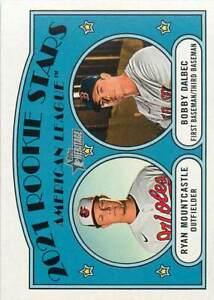2021 Topps Heritage Base #185 Rookie Stars Ryan Mountcastle/Bobby Dalbec Red Sox