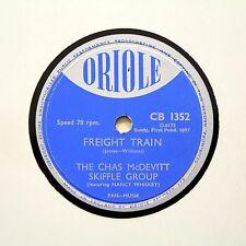 "CHAS McDEVITT SKIFFLE GROUP ""Freight Train"" ORIOLE CB-1352 [78 RPM]"