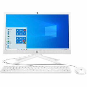 """HP 21-b0001n 20.7"""" AIO PC FHD 4/256 GB SSD Win10 Intel UHD Graphics 600 White"""