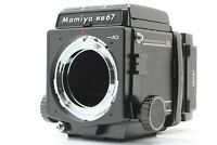 [TOP MINT ] MAMIYA RB67 Pro SD Body Waist Level Finder 120 Filmback from JAPAN