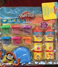 Play-Doh Bath 6 Moldable Bath Soaps 1 whale extractor 2 rails 2 Bubble Bath Gift