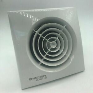 """Envirovent Silent Timer Extractor Fan 4"""" 100mm SIL100T"""