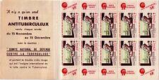 FRANCE - 1950 - CARNET DE 10 TIMBRES - 20e CAMPAGNE NATIONALE 1950 - SANS REPOS