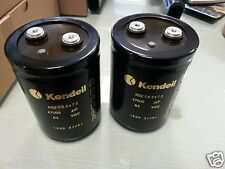 4x NEW KENDEIL 47000UF 63V K02 HI END CAPS 105C FOR KSA50 & McIntosh MC-2300!