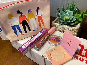 Ipsy Makeup Glam Bag ONLY ~ March 2021 NEW & 3 More Makeup Items As Shown
