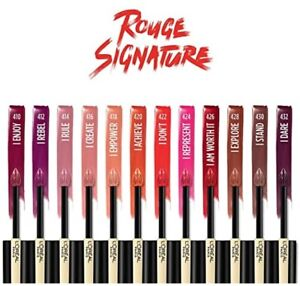 L'Oréal Paris Rouge Signature Matte Liquid Lip Stain Lipstick - You Choose Color