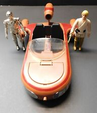 1978 Vintage Kenner Star Wars Land Speeder with C3PO & Luke Skywalker Figures