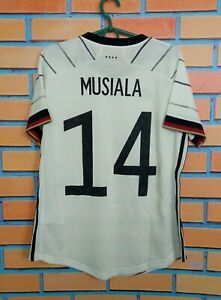 Musiala Germany Jersey 2020 Home Women LARGE Shirt Adidas EH6102