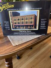 BACHMANN SPECTRUM #88004 HO SCALE CITY SCENES VARIETY STORE NEW IN BOX