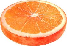 Sitzkissen Orange mit Schaumstoff-Füllung Höhe: ca. 7 cm  Ø ca. 38 cm