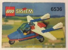 LEGO 6536 Notice de Montage Instruction Booklet 1993