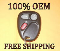 OEM GM GMC CHEVY CADILLAC KEYLESS REMOTE FOB TRANSMITTER 15042968 KOBLEAR1XT