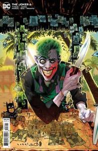 THE JOKER #6 TONY HARRIS CARDSTOCK VARIANT COVER 2021 DC COMICS TYNION IV 013
