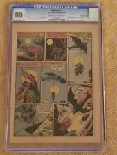 1939 DC BATMAN #1 CGC PG PAGE 14