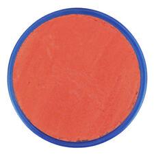 Accessori arancione acrilici Snazaroo per carnevale e teatro