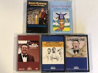 Jerry Clower - Greatest Hits & Cajun Stories LOT of 5 Audio-Cassettes